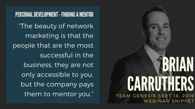 The Best of Brian Carruthers Interview - Personal Development: Finding a Mentor